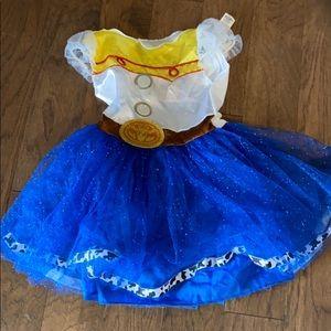 Toy Story 4 Jessie costume size 8 girls!